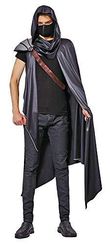 Das Kostümland Assassin Kämpfer Kostüm für Herren - -