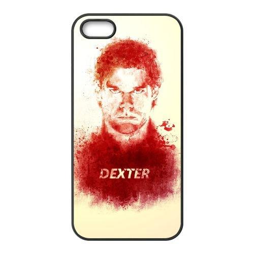 Dexter Blood coque iPhone 4 4S Housse téléphone Noir de couverture de cas coque EBDXJKNBO09577