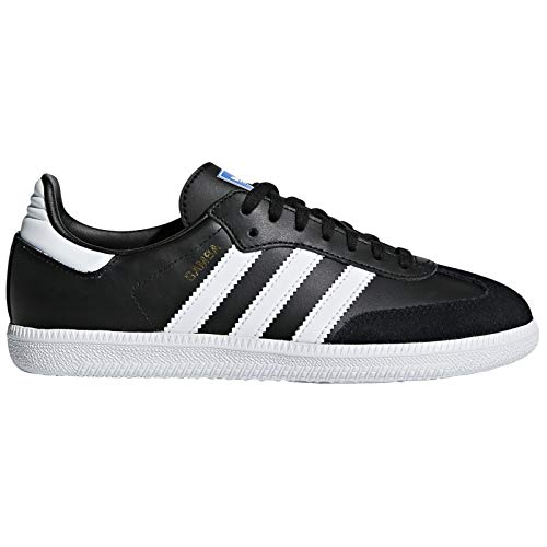 adidas Youth Samba Original Leder Black Trainer 39 1/3 EU (Adidas Toddler Sneaker)