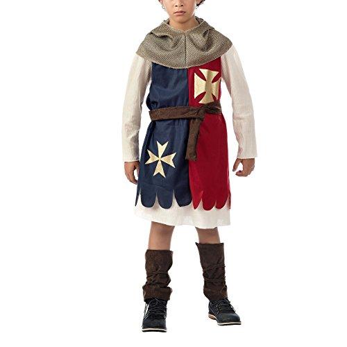 Ritterkostüm für Kinder Kinderkostüm Ritter Kostüm Gr. 116-146, Größe:134/140