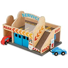 Melissa & Doug - Estación de Servicio y Garaje de estacionamiento ...