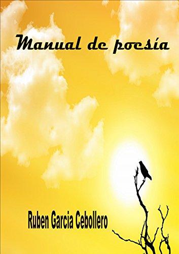 Manual de poesía por Ruben García Cebollero