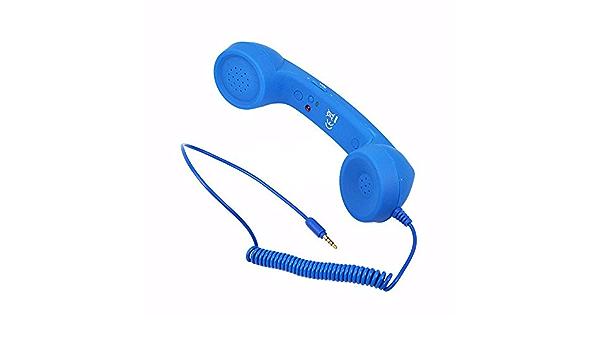 Xuanwei Telefonempfänger Klassisch Retro 3 5 Mm Elektronik