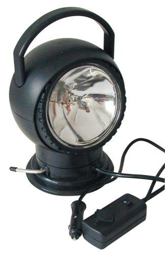 Berger & Schröter 30222 Elektrisch verstellbarer Halogen Suchscheinwerfer 12 Volt