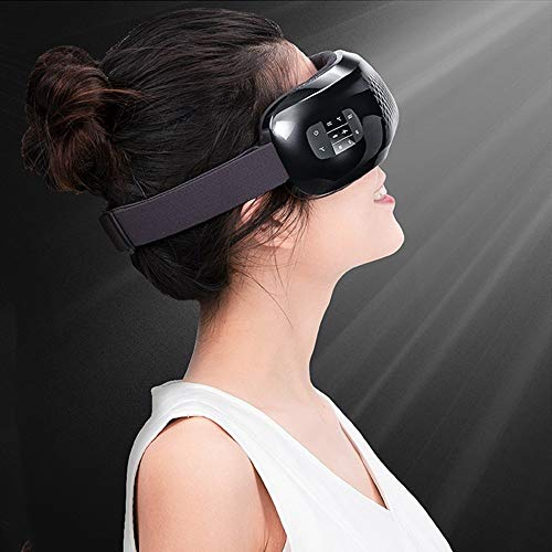 Ionic Eyes Gesichtsmassagegerät Elektronische Augenmassagegerät Maske Faltbar Wiederaufladbar Mit Heizung Luftdruck Vibration Für Trockene Augen Vision Augenringe Stressabbau Beseitigen Sie Augenringe