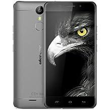 Nuevo Lanzamiento Ulefone Metal - Android 6.0 Gorilla de Corning 3 pantalla de 5.0 pulgadas 4G smartphone de 3 GB de RAM Octa Core escáner de huellas dactilares GPS Bluetooth 4.0 OTG - gris