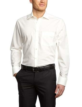 Seidensticker Herren Hemd/ Business 1000, Gr. 38 CM (S), Beige (21 ecru)