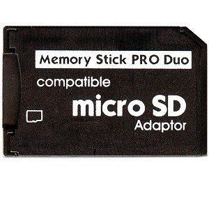 Keple® Micro SD-Karte, auf Pro Duo Memory-Stick, Karten-Adapter für Sony PSP und Digitalkameras