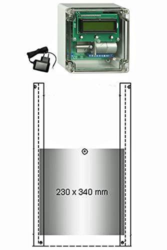 *JOSTechnik Automatische Hühnerklappe JT-HK +Zeitschaltuhr+Klappe Hersteller!*