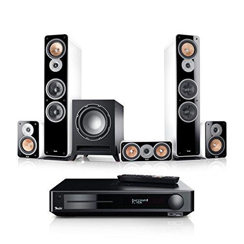 Teufel Ultima 40 Surround Impaq 5.1-Set (2017) Weiß Film Subwoofer Lautsprecher Movie Musik Raumklang Sound Heimkino DTS HD Komplettanlagen 5.1 Surround