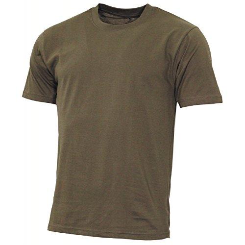 MFH US T-Shirt, Streetstyle, Oliv, 140-145 g/m² - L - Armee Militär T-shirt