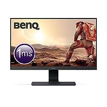 BenQ GL2580H 24.5 Inch FHD 1080p 1ms Eye-Care LED Gaming Monitor, HDMI, Black