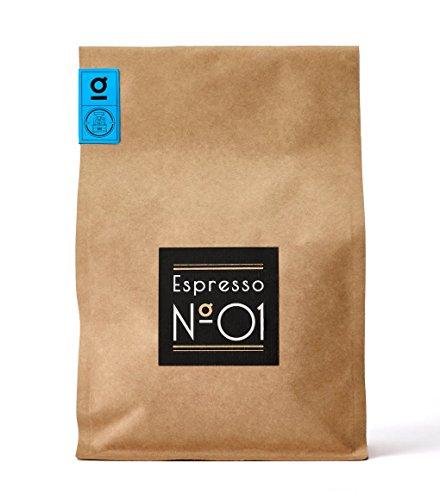 Espresso N°01 von Coffee858 - Premium Espresso-Bohnen - Feinster Arabica Robusta Blend - Kaffee-Bohnen für Vollautomaten und Siebträger - 750g