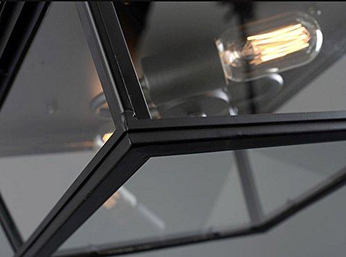 Lytsm lampade da soffitto stile americano retro ristorante da