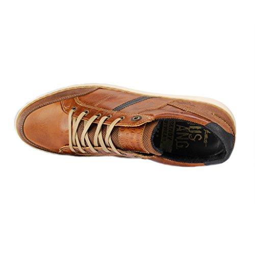 MUSTANG - Herren Halbschuhe - Braun Schuhe in Übergrößen Braun