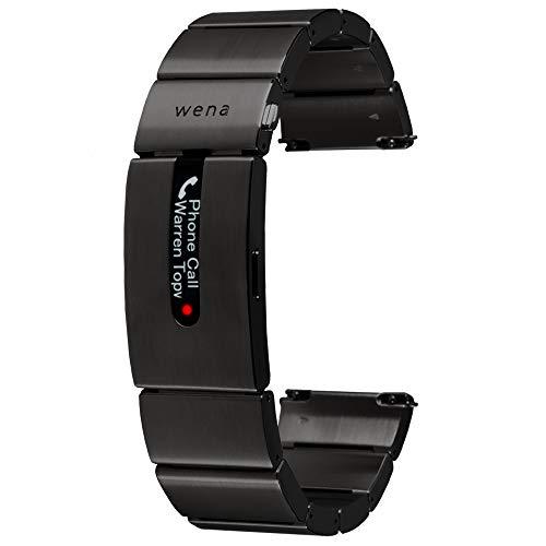 Wena Active by Sony - Smart-Fitnessarmband für Uhren mit GPS und optischem Herzschlagsensor