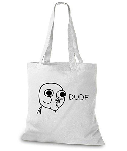 Stylobags Juta Bag / Bag Dude White