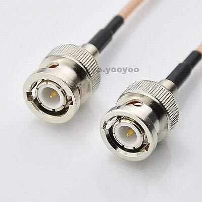FidgetGear BNC Stecker auf BNC Stecker Jumper Kabel RG316 RG58 RG174 25,4 cm 50,8 cm 91,4 cm 3 ft 3 ft -
