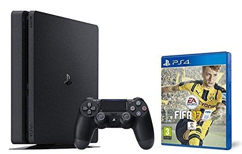 PlayStation 4 Slim (PS4) 1TB - Consola + FIFA 17