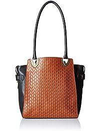 Hidesign Women Shoulder Bag (Tan)(EE LIYA 01-WOVEN-TAN)
