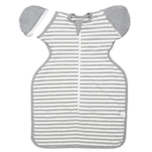 Y-Y Baumwolle Baby Quilt Handtuch kann Ärmel neugeborenen Schlafsack Babydecke gefaltet Werden Farbe 3 XL(9-12 Monate)