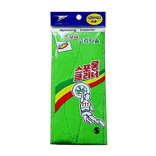 X (3PCS) lang Peeling Rücken Waschlappen, Badewanne Waschen Handtuch Korean Italien Handtuch -