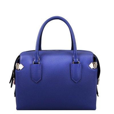 SZJZ Cartella in pelle Borsa tempo libero confezione piccola di 2017 nuova moda Borsetta tracolla,blu blue