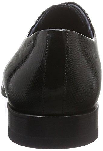 Joop! Loukas Derby Lace I Embossed Patent, Derby homme Noir - Noir (900)