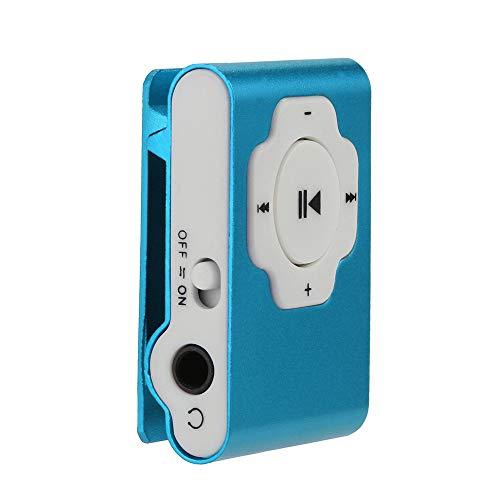 OSYARD MP3 Player,Musik Player,Mini Tragbarer Touch-Taste USB MP3 Player Verlustfreie Sound Sport Musik Medien mit Clip für Joggen,Wandern oder Campingund,Unterstützt 32GB Micro SD/TF Karte Avi Mpg Converter