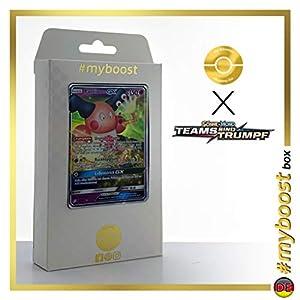 Pantimos-GX (Mr.Mine-GX) 67/181 - #myboost X Sonne & Mond 9 Teams Sind Trumpf - Box de 10 Cartas Pokémon Alemán