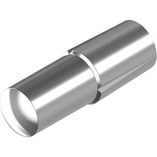 200 Stück Steckkerbstifte DIN 1474/ISO 8741 -Edelstahl A1 4x 10