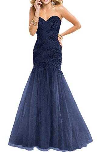 Victory Bridal - Robe - Crayon - Femme bleu foncé
