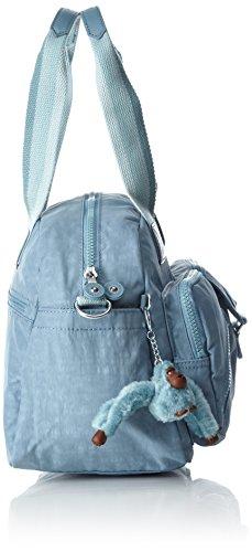 Kipling Defea, Borsa con Maniglia Donna, One Size Blu (Pastel Blue C)
