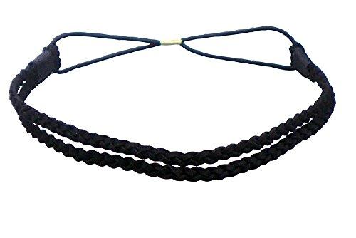 Haarband Braided - Style (schwarz)
