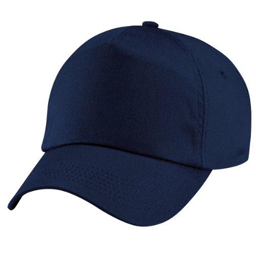 Beechfield - Casquette de Baseball 100% coton - Unisexe Bleu - French Navy