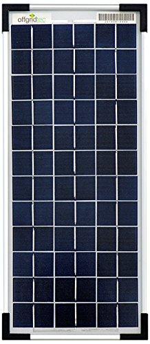 Offgridtec 10 Watt Poly Solarpanel 12V, 3-01-001565