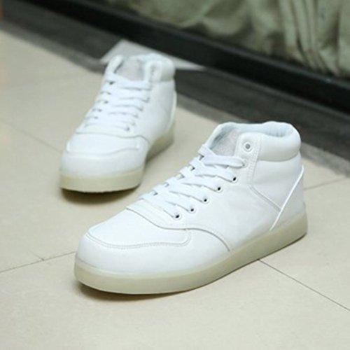 [Présents:petite serviette]JUNGLEST - Baskets Lumine High-Top Blanc