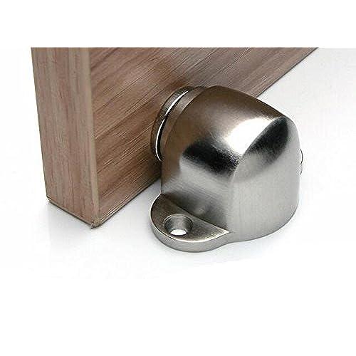 Magnetic Door Stop Catch - Compact Stainless Steel Metal Magnet Door stopper  sc 1 st  Amazon UK & Door Magnets: Amazon.co.uk