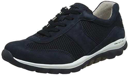 Gabor Shoes Damen Rollingsoft Derbys, Blau (Nightblue), 40 EU