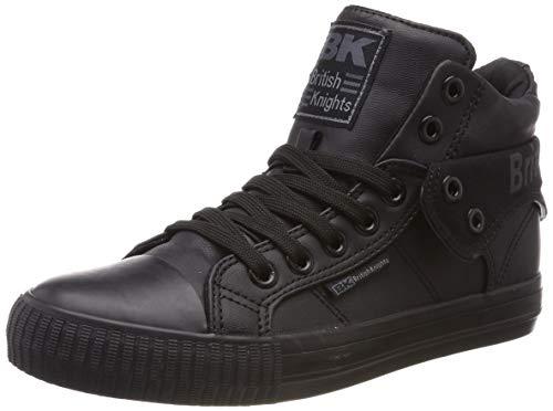 British Knights Unisex-Erwachsene ROCO Hohe Sneaker Schwarz (Blk Outsole) 5, 43 EU