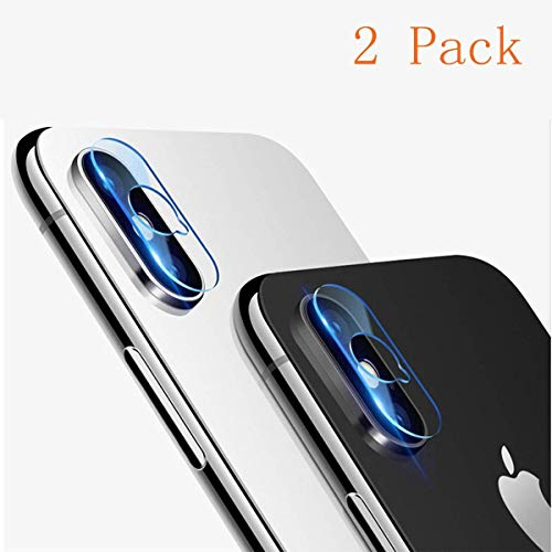 AROC iPhone XS Max Camera Lens Protector, HD Clear Ultra Thin Protective  Film Tempered Glass Rear Lens Cover Guard (2 Pack)