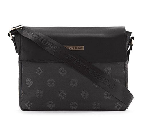wittchen-damen-umhangetaschen-tasche-7x24x31-cm-schwarz-nylon-handmade-83-4l-805-1
