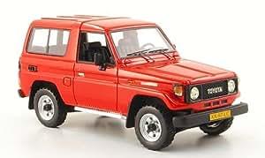 Toyota Landcruiser LJ 70, rouge, 1986, voiture miniature, Miniature déjà montée, Neo 1:43
