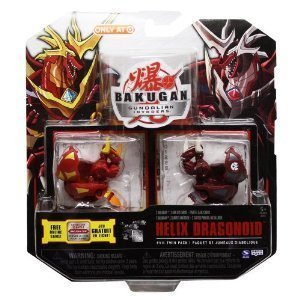 Bakugan Gundalian Invaders Evil Twin Pack: Helix Dragonoid