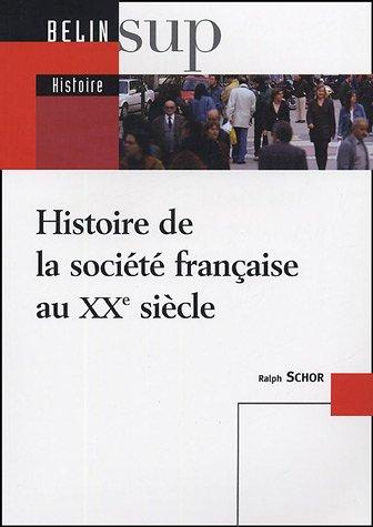 Histoire de la société française au XXe siècle
