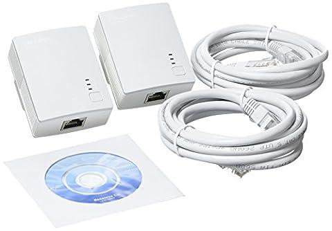 TP-LINK TL-PA4010KIT AV500 500 Mbps Nano Powerline Adapter Starter Kit - White, Pack of (accessori del video gioco)