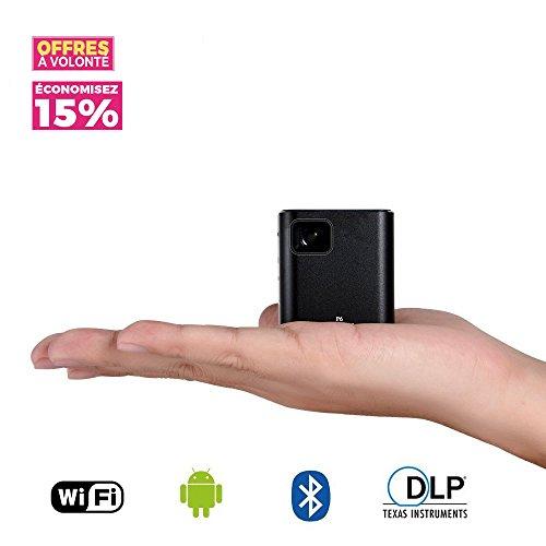 Mini Vidéoprojecteur Portable, LESHP Vidéoprojecteur Batterie...