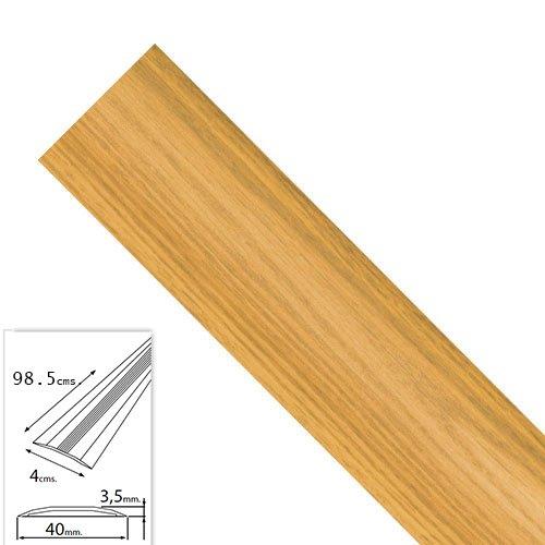 WOLFPACK 2541130 Tapajuntas Adhesivo Para Moquetas Aluminio Roble 98,5
