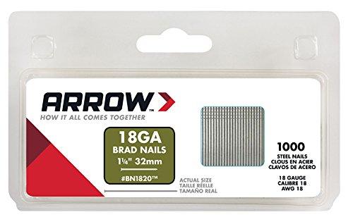 Arrow BN1820 Boîte de 1000 Pointes 32 mm