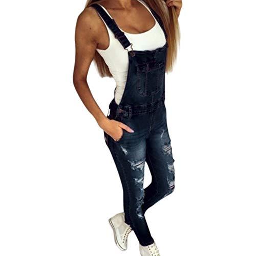Pantaloni donna jeans abcone jumpsuit da donna elegante donna pantaloni jeans larghi strappati monopezzi e tutine donna donna salopette denim tute tuta pantaloni siamesi pantaloni con tuta jumpsuit